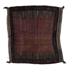"Image of Vintage Afghan Saddle Bag - 4'3"" x 4'8"""