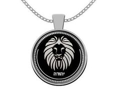 Hebrew Israelite Jewelry & Necklaces For The 12 by HebrewPrint Silver Chain Necklace, Men Necklace, Jewelry Necklaces, Tribe Of Judah, Beautiful Necklaces, Necklace Lengths, Mother Day Gifts, Fine Jewelry, Lion