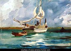 Sloop, Bermuda - Winslow Homer - www.winslow-homer.com