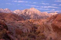 Lone Pine Peak, Sierra Nevada, California