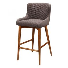 Doyle Counter Stool Brown - Bar & Counter Stools - MOE'S Wholesale