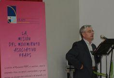 Daniel Hernán, presidente de ASPADES-LA LAGUNA, habló de su asociación y del valor de este Encuentro.