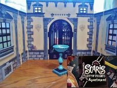 Monster High Scaris House + New Doll furniture barbie bratz clothes accessories. This is an entire house. Unfortunately. It doesn't show the entire outside. But it's nice if you don't want to make your own. Cute. Still on sale on eBay as of 11/17/13. The blonde in the pic.