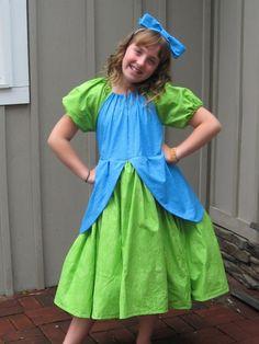 Girls Cinderella Ugly Stepsister DRIZELLA Costume Dress Custom ALL SIZES   Princess