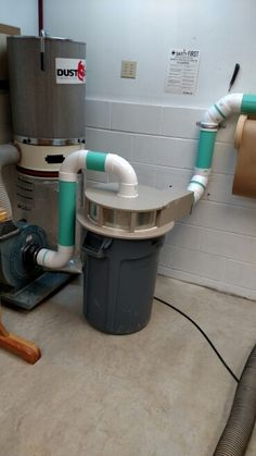 5 Gallon Bucket Cyclone Dust Separator Workshop Dust
