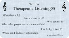 Learn more about how the Therapeutic Listening program can help children who struggle with sensory, attention, social, emotional, or regulation issues.
