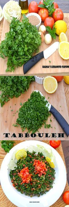 The mother of all Lebanese salads. Looking for a healthy Mediterranean and flavorful salad? Go no further. Parsley is known as an excellent blood purifier and high in minerals like calcium, potassium, magnesium, copper and zinc and has a high amount of antioxidant that delays the signs of ageing!