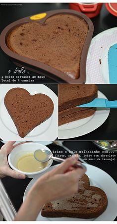 Do It Yourself | Naked Cake com frutas, chocolate e baunilha