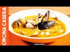 Sopa de pescado fácil y sencilla - Receta casera fácil y sencilla