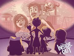 Inside Out - Poster Posse Art - by Laurie Greasley