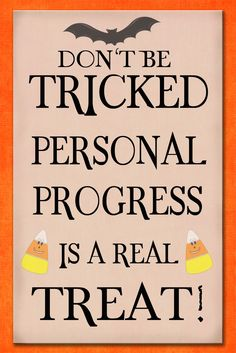 "I will be pairing this Personal Progress printable with a small bag of Halloween treats for the girls this month. To use this free for personal use printable, right click the image and select ""save image as.."" Related"