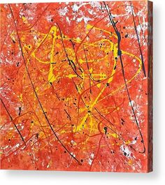 """Abstract: An abstract oil painting printed on to the back of a 1/4"""" thick acrylic sheet to produce a high gloss effect by Kelly Goss Art. Delivered """"ready to hang"""" with two mounting options. Perfect to brighten up and decorate your home. Fit for any wall in any room. The special gift to spice up a friend's home decor. For a lover of modern and abstract art."""