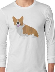 Corgi Camiseta de manga larga