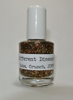 Rake Crunch JUMP   Nail Polish 15ml 5oz by DIFFERENTdimension. , via Etsy.