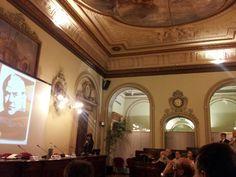 la sala del Parlamentino a Palazzo dei Giureconsulti, Camera di commercio di Milano