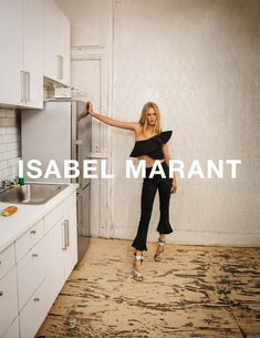 Love. Isabel Marant tapped German supermod and Alexander Wang's bestie Anna Ewers to star in its new Spring/Summer 2017 ad campaign. Fashion photography duo...