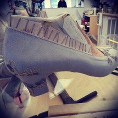 #weddingshoes #madeinrome #handmade by expert #artisans #hearth #bespoke #madetoorder http://ift.tt/1TIT343 - http://ift.tt/1HQJd81