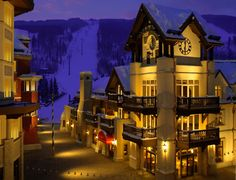 Exclusive Resorts at The Arrabelle at Vail Square. I was here for the 4th of July one year. Fireworks were amazing!