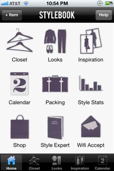 Stylebook app. Import your actual clothes, put together looks, plan outfits, etc. It's like grownup paper dolls ;)