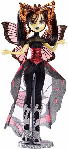Monster High Boo York Gala Ghoulfriends Luna Mothews Doll New