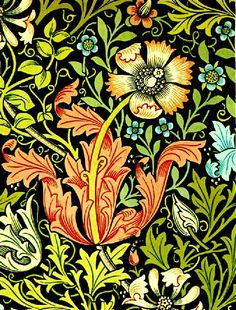 William Morris - A Must Have Designer - if you are to do this style justice! William Morris
