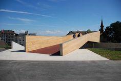Passerelle Pietonne by Maison d'art'chitecture, Switzerland