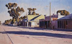 Hoofstraat, Niewoudtville Africa Painting, Building Painting, South African Artists, Unique Paintings, Art Courses, Impressionism, Landscape Photography, Shop Fronts, World