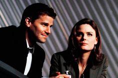 Booth And Bones, Booth And Brennan, Bones Tv Series, Bones Tv Show, Bones Quotes, Emily Deschanel, American Crime, David Boreanaz, Popular Shows