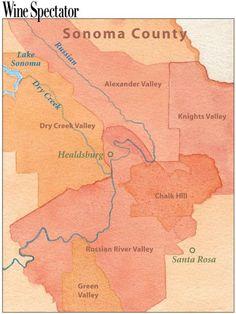 Wine Regions of Sonoma wine wineeducation Wine Education