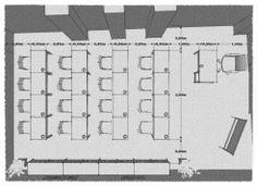 New training room design / Diseño sala de formación