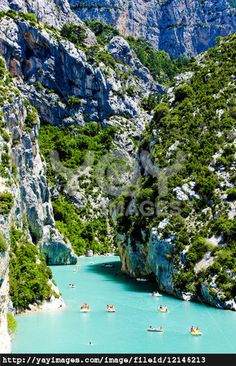 Out of all the places in the world right now, we want to be here!!!  St Croix Lake, Les Gorges du Verdon, Provence, #France