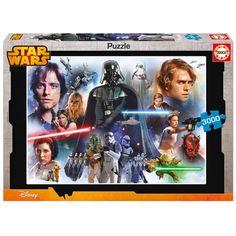 STAR WARS 3000 PIEZAS Dimensiones: 120 x 85 cm. Su referencia es: 16321. Sale a 18,25€