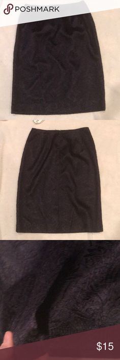 Travis Ayers purple lace skirt Purple lace, size 8,  small zipper in back and small slit in back Travis Ayers Skirts Pencil