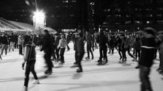 Go ice skating in Bryant Park for free!