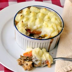 Leftover Turkey Shepherd's Pie - tried this tonight; realized too late I didn't have gravy - so substituted Tastefully Simple Bayou Bourbon glaze - AWESOME!