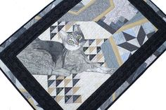 Quilted Wall Hanging Textile Fiber Art by thebutterflyquilter, $550.00