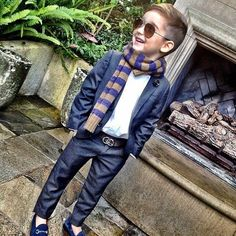 Can i dress him like this without him becoming ridiculously arrogant?!