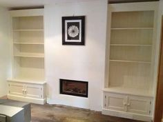Double Fitted Alcove Units with Press, Painted christy bird €1800 plus VAT