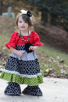toddler girls dress boutique girls dress fall outfit peasant dress christmas dress