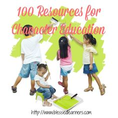 Here are some resources of character education to inspire homeschooling parents achieving their goals educating children.