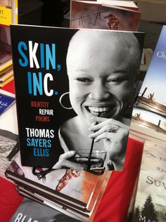 Spotted: Skin, Inc.: Identity Repair Poems by Thomas Sayers Ellis // Brooklyn Book Festival // September 2011 // submitted by @Frances Uku