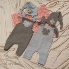 Ready to ship Upcycled newborn twins romper and by BeautyOfCrochet