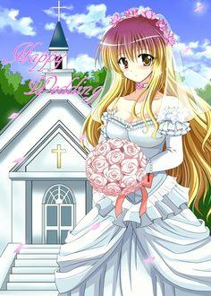 Byakuren wedding dress #Touhou