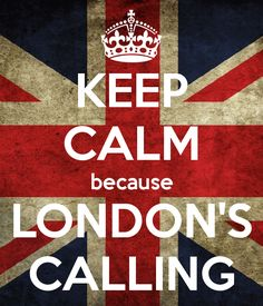 anglotees - Keep Calm Because London's Calling