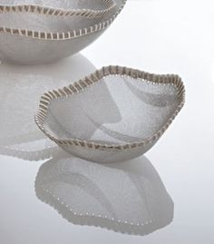 Stainless steel mesh bowls