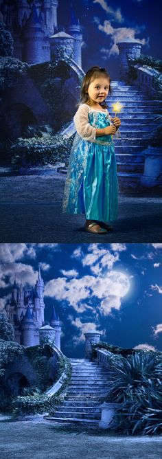 Enchanted Castle Backdrop from Backdrop Express - perfect for kid and girl portraits! Castle Backdrop, Girl Portraits, Enchanted Castle, Photographing Kids, Backdrops, Disney Princess, Printed, Disney Characters, Photography