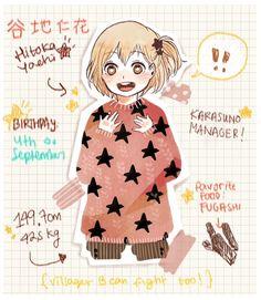 Yachi Hitoka - Haikyuu!! / HQ!!