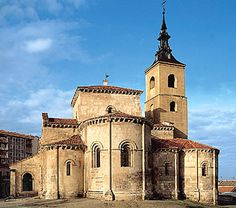 The Romanesque church of San Millán (12th century), Segovia, Spain.   Art Experience NYC  www.artexperiencenyc.com/social_login/?utm_source=pinterest_medium=pins_content=pinterest_pins_campaign=pinterest_initial