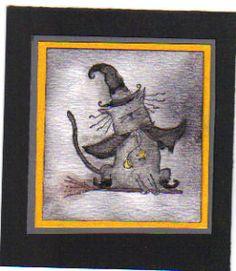 WT132 Basic Grey Haunting Halloween by n5