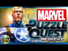 Marvel Puzzle Quest Capitain America Winter Soldier
